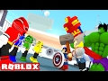 POWER RANGERS vs SUPERHEROES IN ROBLOX! (Roblox Superheroes)