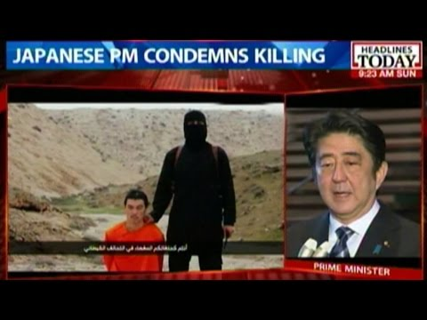 Japan condemns ISIS beheading of journalist Kenji Goto
