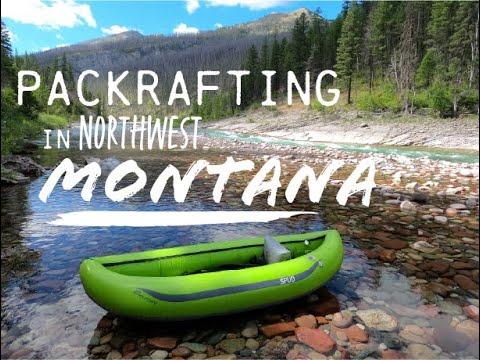 Packrafting in the Bob Marshall Wilderness