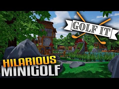 Golf It! - Hilarious Multiplayer Minigolf with Friends! (Golf It Gameplay)