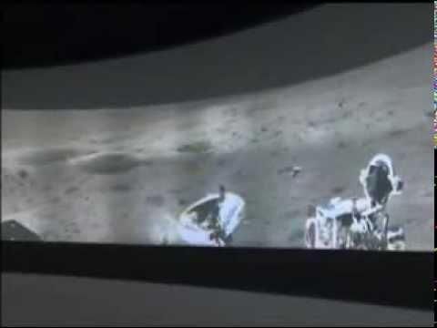 China s Rover Sends Back Lunar Panorama Image