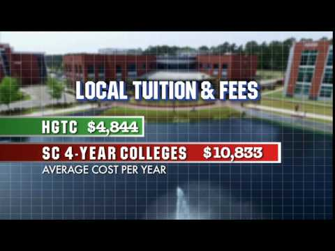 HGTC In Myrtle Beach, SC Costs Less Than Half Of A 4-year College, And Classes Transfer!