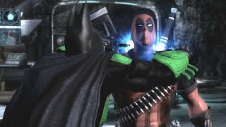 Injustice: Gods Among Us - All Super Moves on Deadpool (1080p 60FPS)