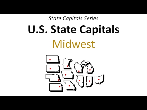 State Capitals Series   Midwest