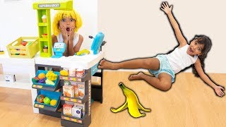 BIA LOBO PRETEND PLAY SUPERMARKET WITH BABY BORN DOLL