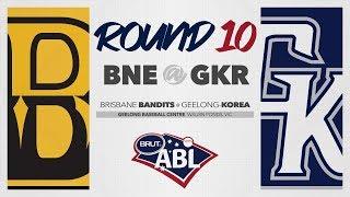 Brisbane Bandits @ Geelong-Korea, R10   G1