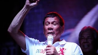 Philippines' President-Elect Encourages People To Kill Drug Dealers