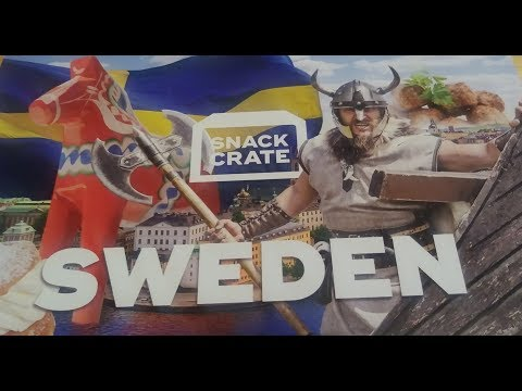 Snack Crate: Sweden