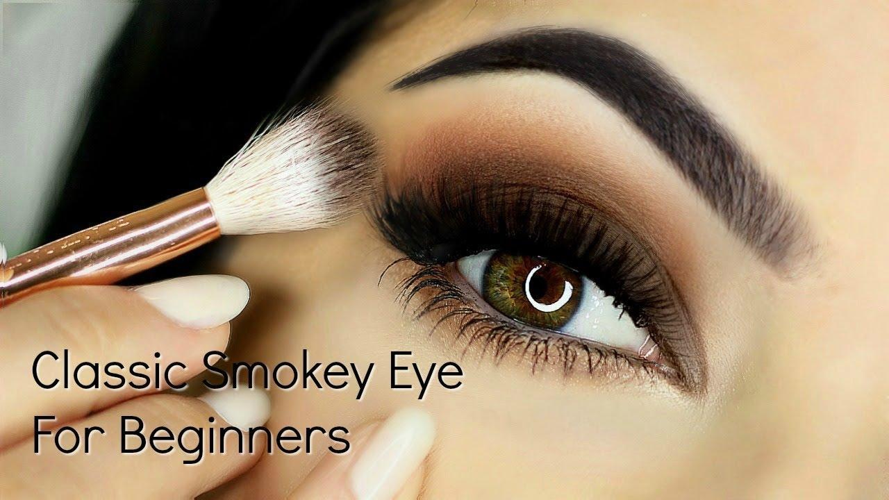 beginners smokey eye makeup tutorial | parts of the eye | how to apply  eyeshadow