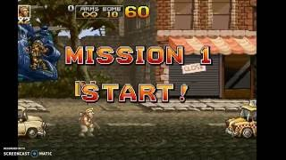 Destrozando todo!! / Metal slug 4/ Super Peter bross presley