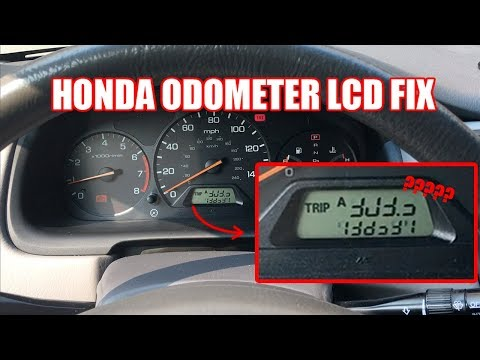 2000 Honda Accord Odometer LCD Fix