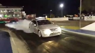 Ford Falcon G6E Turbo Taxi 10.8 1/4 Mile Willowbank Raceway