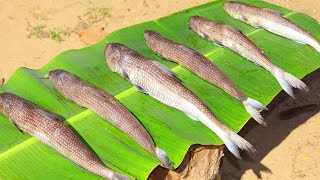 KILANGA MEEN VARUVAL Prepared by Daddy | Quick and Easy Fish Fry | Kezhanga Meen | Farmer Cooking