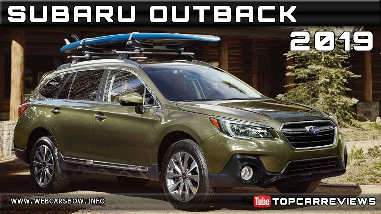 2019 Subaru Outback Review Rendered Price Specs Release Date