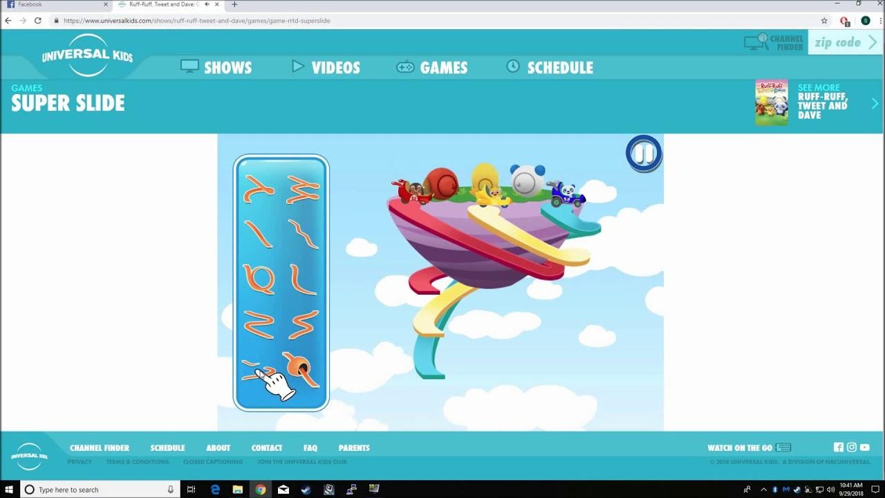 Best Kids Games - Universal Kids Games super slide (Funny)