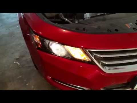 2014-2018 GM Chevrolet Impala - Testing Headlights After Changing Burnt Out Light Bulbs