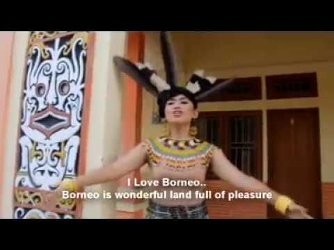 Lagu daerah kalimantan timur I LOVE BORNEO