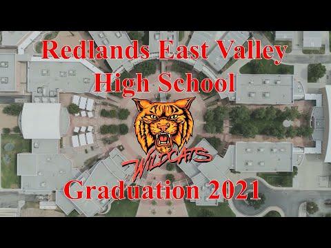 Redlands East Valley High School Graduation 2021