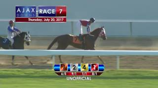 Ajax Downs, July 20, 2017, Race 7