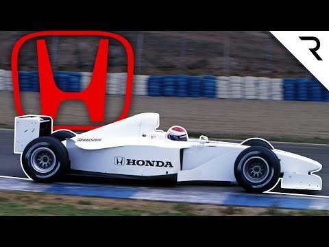 Why Honda aborted its 1999 F1 test car project