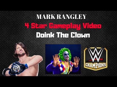 WWE Champions - 🎥 4 STAR Doink the Clown Gameplay Video thumbnail