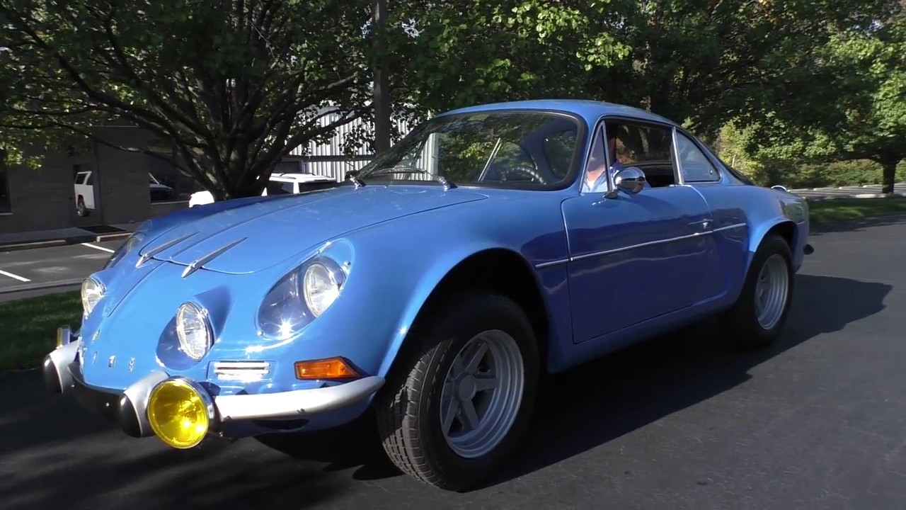 1965 Alpine Renault A110 Dinalpin Idle Youtube