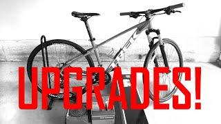 New Bike UPGRADES!?! - Trek Marlin - Drivetrain, RockShox Recon Fork, Shimano Brakes
