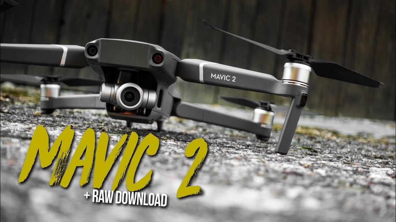 Mavic 2 Zoom - 3 DINGE welche du bei einer NEUEN DROHNE tun solltest! + RAW Download
