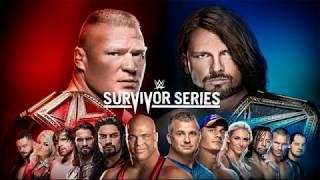 wwe survivor series 2017 matches