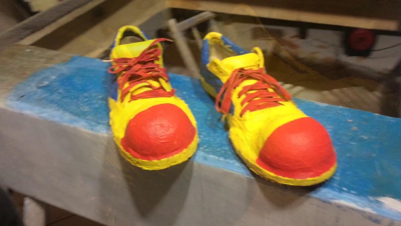 913fdd444f aprenda fazer um sapato de palhaço profissional - YouTube