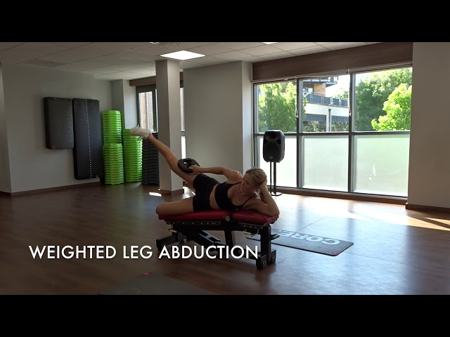 Weighted Leg Abduction