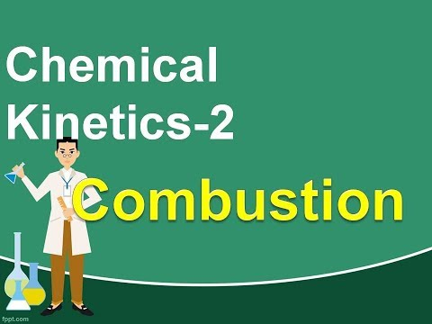 Chemical Kinetics-2  Combustion   Lecture  