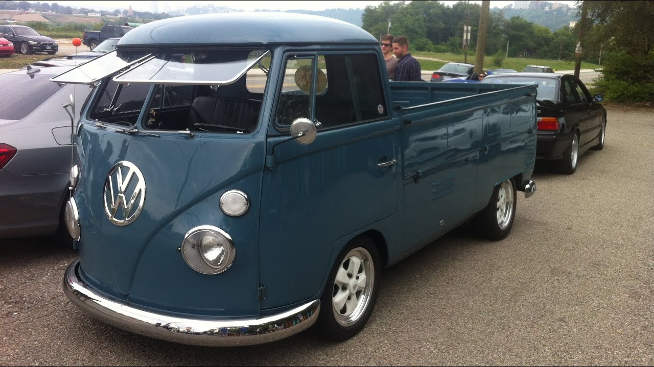 Vw Volkswagen Pickup Truck Kombi 360 Degrees Walk Around