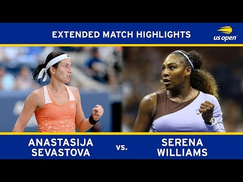 Extended Highlight: Serena Williams vs Anastasija Sevastova  2018 US Open SF