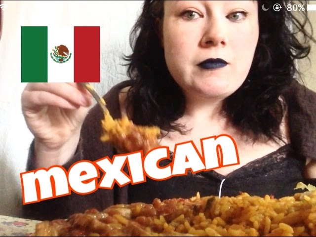 Mukbang Eating Show Mexican Food Requested Mukbang Mexican Food Eating Show