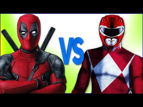 РЕЙНДЖЕРЫ VS ДЭДПУЛ | СУПЕР РЭП БИТВА | Power Red Rangers samurai ПРОТИВ Deadpool 2 Film