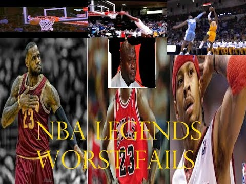 NBA LEGENDS WORST FAILS