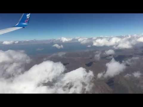 Scary Fly Dubai Arrival To Armenia