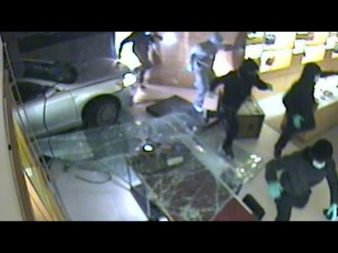 Smash-and-Grab Robberies on the Rise in the US
