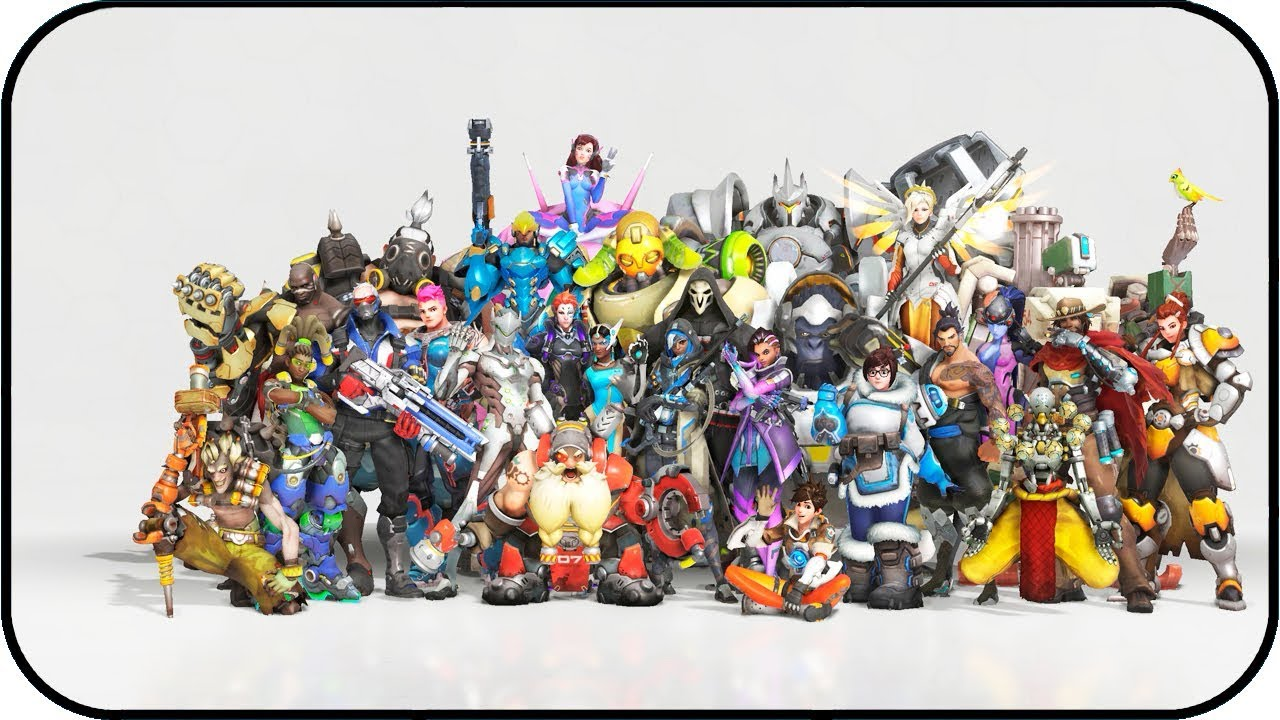 Overwatch Anniversary 2018 Animated Wallpaper 4k 60fps Youtube