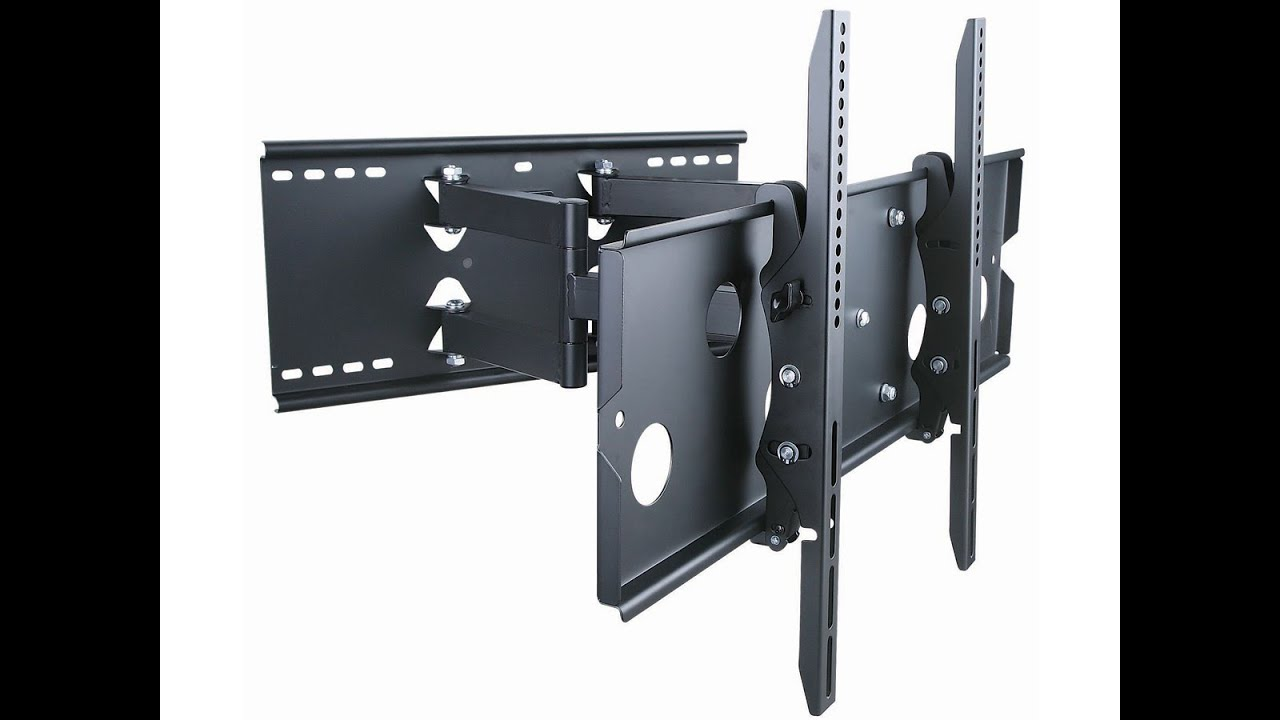Monoprice Full Motion Tv Wall Mount Review Youtube
