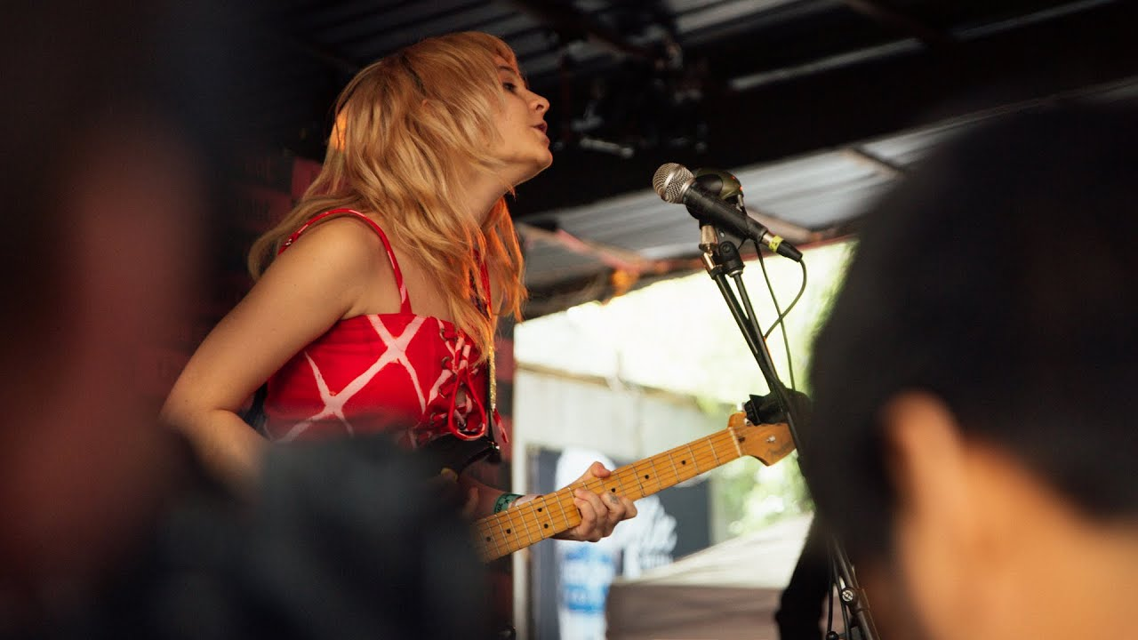 Watch Cherry Glazerr Perform At The Current Day Party In