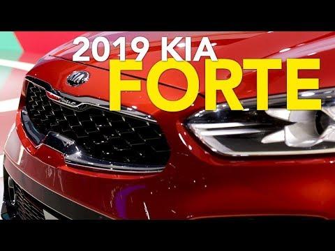 2019 Kia Forte First Look 2018 Detroit Auto Show