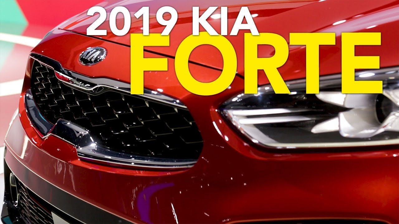 2019 Kia Forte First Look - 2018 Detroit Auto Show - Dauer: 2 Minuten, 27 Sekunden