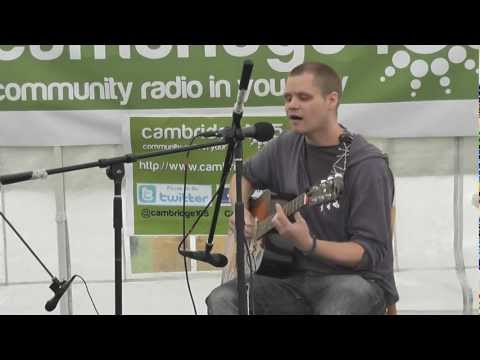 Dave Neale - Strawberry Fair 2012 - Cambridge 105 Tent