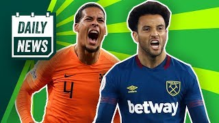 Madrid want West Ham's star, Chelsea could bring back Lampard + EURO 2020! ► Onefootball Daily News thumbnail