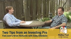 Two Tips From an Investing Pro