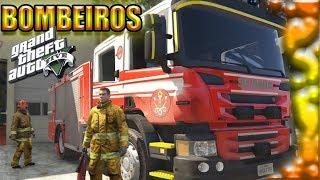 GTA V: BOMBEIROS - Apagando incêndios #10
