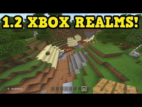 Minecraft Xbox 1.2 REALMS SURVIVAL LIVE