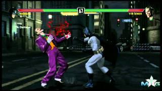 Mortal Kombat vs DCU Batman vs Joker fight